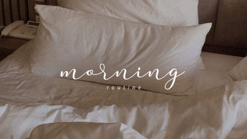 Not So Perfect Morning Routine